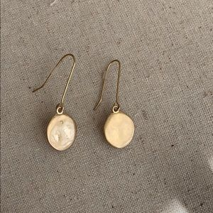 Paulette single drop earrings